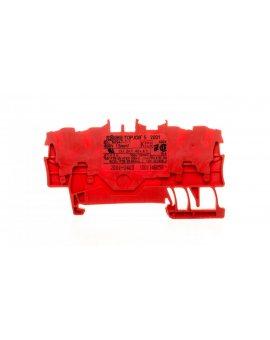 Złączka 4-przewodowa 1, 5mm2 czerwona TOPJOBS 2001-1403