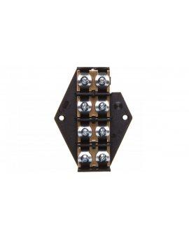 Płytka odgałęźna serii ZPT 16, 0mm2 4-torowa ZPT4-16.0 83007007