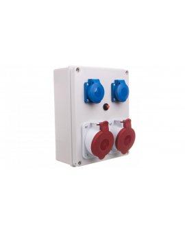 Rozdzielnica R-BOX 240 2x32A/5P 2x250V IP44 B.1099