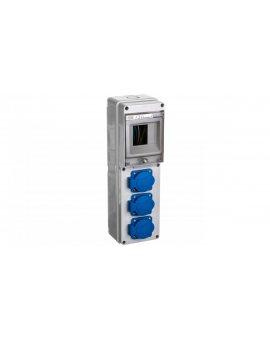 Rozdzielnica budowlana 4 moduły, 3x16A 2P+Z RSE-01 IP54 942060