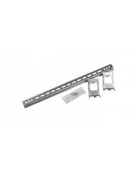 Szyna montażowa 35x15x600mm stal TH35 + zaczepy 24m regulowane 020201