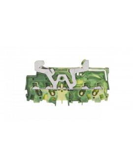 Złączka szynowa PE 4-przewodowa 1, 5mm2 żółto-zielona 2001-1407 TOPJOBS
