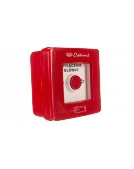 Wyłącznik alarmowy 2Z 12A /WYŁĄCZNIK GŁÓWNY/ IP55 WG-2s 921441