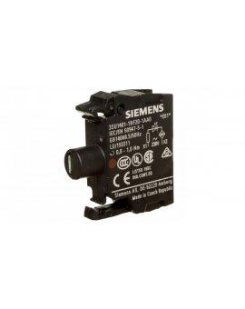 Oprawka z LED czerwona 230V AC montaż czołowy Sirius ACT 3SU1401-1BF20-1AA0