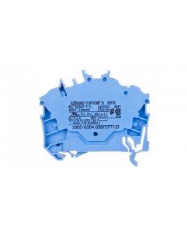 Złączka szynowa 3-przewodowa 2, 5mm2 niebieska 2002-6304 TOPJOBS