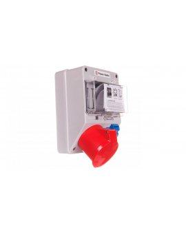 Zestaw zasilający 32A/400V 5P + 10/16A 250V + płytka odgałęźna 5x6mm2 6265-130