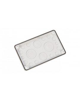 Osłona zabezpieczająca z materiału elektroizolacyjnego 2xM16, 12xM20, 2xM40/25, 2xM50/32 F3A-12 076555