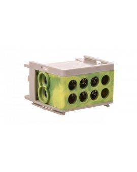 Blok rozdzielczy kompaktowy BRC 25-1/2 żółto-zielony R33RA-02030000601