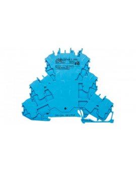 Złączka 3-piętrowa 2, 5mm2 N/N/N niebieska TOPJOBS 2002-3204