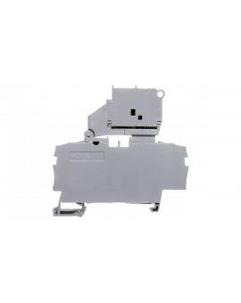 Złączka 2-przewodowa 2, 5mm2 bezpiecznikowa szara TOPJOBS 2002-1611/1000-836