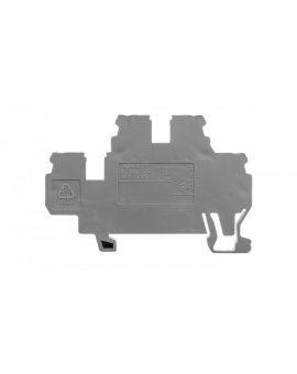 Złączka dwupiętrowa L / N 2, 5mm szara 870-503