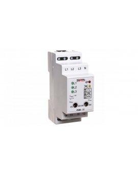 Przekaźnik napięciowy 3-fazowy 230/400V AC PNM-31 EXT10000105