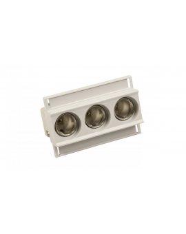 Gniazdo bezpiecznikowe na szynę 3P E27 DII 25A 500V EZN 25/3 002322025