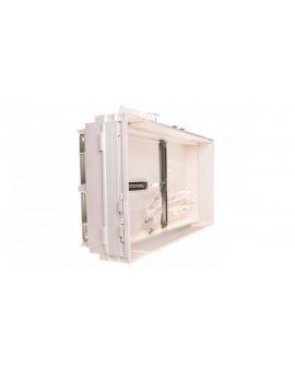 Płyta pola licznika 250x450mm z zamontowanymi krzyżakami biała U96N