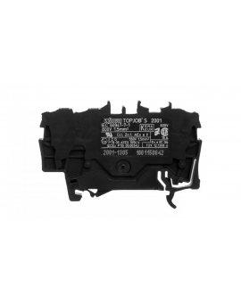 Złączka szynowa 3-przewodowa 1, 5mm2 czarna TOPJOBS 2001-1305