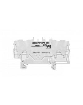 Złączka 4-przewodowa 1, 5mm2 biała TOPJOBS 2001-1408