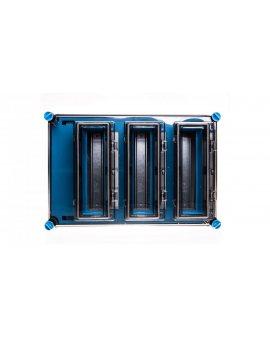 Skrzynka modułowa Mi, IP 65, wlk.3 - 3x12 modułów, z zac.Fixconnect i 3 okienkami Mi 1333 2000605