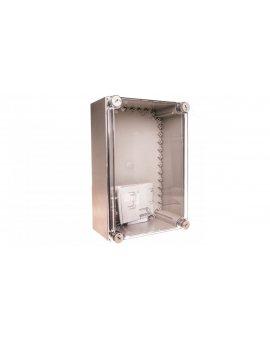 Obudowa 250x375x150mm IP65 (pokrywa przezroczysta) CI43X-125 019900