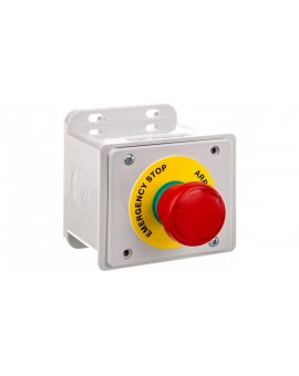 Przycisk alarmowy czerwony 1NC 10A 250V IP65EC69000E