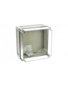 Obudowa 375x375x225mm IP65 pokrywa transparentna CI44E-200 036182