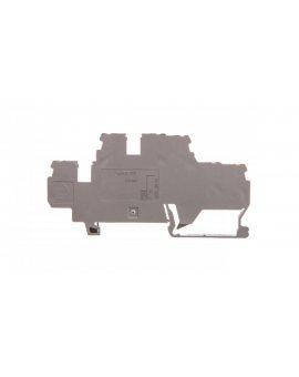 Złączka 2-piętrowa PE / N 3-przewodowa 2, 5mm2 szara 870-535