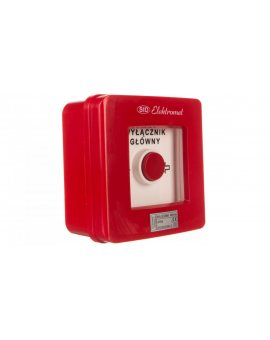 Wyłącznik alarmowy 4R 12A /WYŁĄCZNIK GŁÓWNY/ IP55 WG-6s 921430