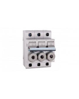 Rozłącznik bezpiecznikowy cylindryczny 3P 10x38mm 20A L95300