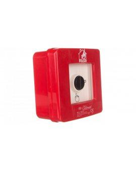 Ręczny ostrzegacz pożarowy 2R 12A IP65 WP-3 ROP B 921410