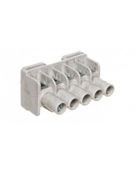 Listwa zaciskowa do puszek 5-torowa 1, 5-6 mm2 Cu szara DKL 04 2600055