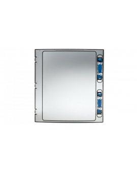 Drzwi do szafki IKA 2x12 transparentne DOOR-2/24-T-IKA 174183