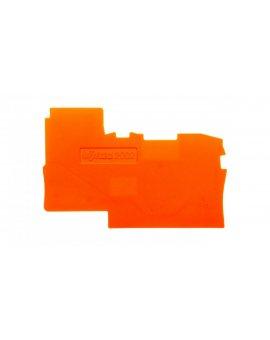 Ścianka końcowa pomarańczowa TOPJOBS 2002-7192 /25szt./