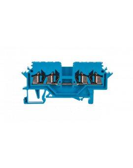 Złączka 4-przewodowa 1, 5mm2 niebieska 279-604 /100szt./