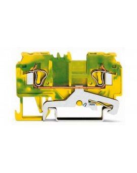 Złączka 2-przewodowa PE 4mm2 żółto-zielona 880-907 /100szt./