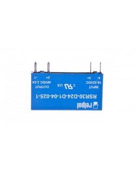 Przekaźnik półprzewodnikowy 1P 24VDC/1A Ustre= 18-32V DC RSR30-D24-D1-04-025-1 2611993