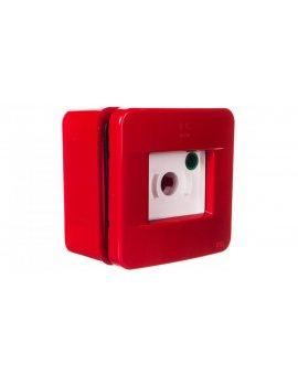 Przycisk ppoż. kompletny czerwony IP55 EC64202