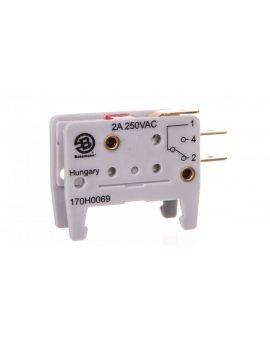 Wskaźnik zadziałania wkładki bezpiecznikowej 2A 250V 170H0069