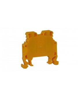 Złączka uniwersalna śrubowa MRK 6mm2 zółta T0-1038