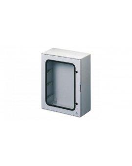 Rozdzielnica Poliestrowa drzwi transparentne IP65 IK10 800x1060x350mm RAL 7035 -25 +60 °C GW46207