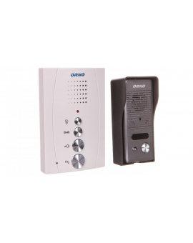 Zestaw domofonowy jednorodzinny bezsłuchawkowy ELUVIO biały OR-DOM-RE-914/W