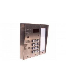 URMET Panel domofonowy cyfrowy z klawiaturą Matibus SE stal nierdzewna srebrny 1052/101D