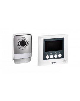 Zestaw wideodomofonowy 4, 3cala /panel zewnętrzny, zasilacz, wideodomofon/ 369110