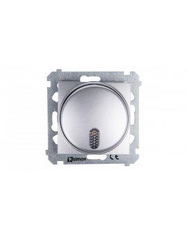 Simon 54 Dzwonek elektroniczny 12V 70dB IP20 srebny mat DDT1.01/43