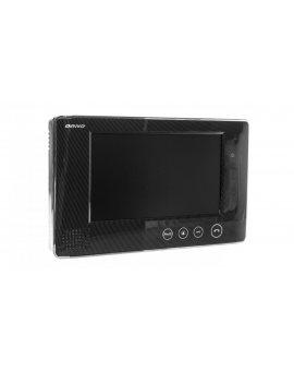 Wideo monitor bezsłuchawkowy 7cali LCD + zasilacz 15V DC otwieranie bramy VP OR-VID-VP-1009MV/B