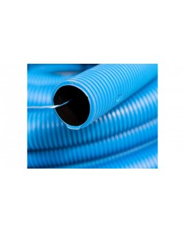 Rura karbowana z podwójnym plaszczem KOPOFLEX KF 450N 50/41mm niebieska /25m/