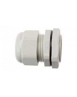 Dławnica kablowa poliamidowa PG21 IP68 DP 21/H szara E03DK-01030100601