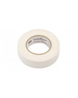 Taśma izolacyjna 19mm x 20m PVC Temflex 1300 biała DE272962825/7000062623