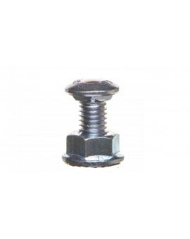 Śruba z łbem grzybkowym + nakrętka kołnierzowa ząbkowana SGK M8X14 651241 /100szt./