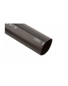 Rura termokurczliwa pogrubiana SRH2/34-7/1000mm/B z klejem czarna 127421