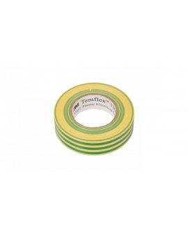 Taśma izolacyjna 19mm x 20m PVC Temflex 1300 zielono-żółta DE272962841/7000062625
