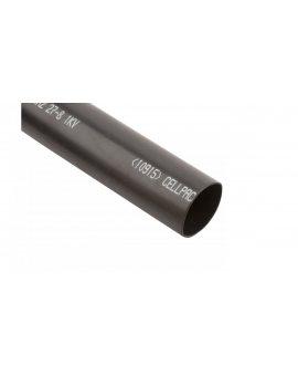 Rura termokurczliwa pogrubiana SRH2/27-8/1000mm/B z klejem czarna 127419